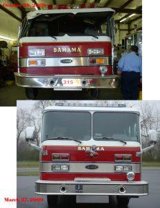 Emergency Vehicle Firetruck Wreck, Repair by Anchor-Richey EVS